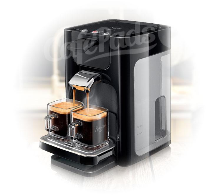 ekspres do kawy senseo quadrante hd7863 czarny. Black Bedroom Furniture Sets. Home Design Ideas